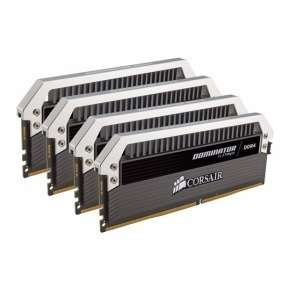Corsair Dominator Platinum DDR4 32 GB (4 x 8 GB) 2400 MHz C10 XMP 2.0 Enthusiast Desktop RAM £249.99 @ Ebuyer