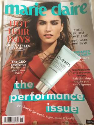Elemis Pro-collegian marine cream 15ml worth £28 with Marie Claire Magazine for £4.20