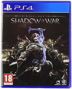 Middle Earth Shadow of War (PS4) £14.99 / (Xbox One) £15.99 Delivered (Ex-rental) @ Boomerang via eBay