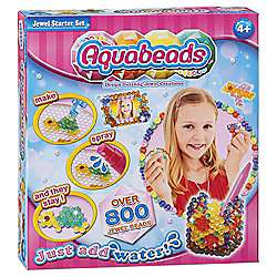 Tesco instore Aquabeads Jewel Starter Set with over 800 beads (was £10 reduced to clear label) £2.50