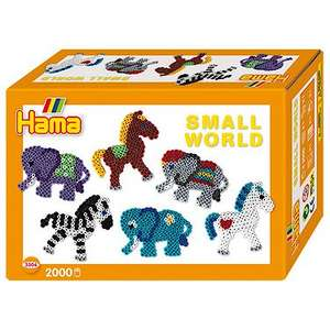 Tesco instore Hama Beads Small World Animals set with over 2000 beads (reduced to clear label) £1.75