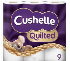 Cushelle QUILTED NOT NORMAL 5x9 (45 rolls) in Costco Gateshead.