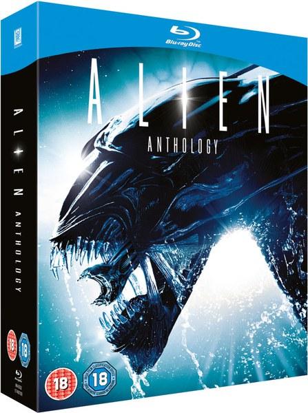 Alien Anthology Blu-ray £11.98 delivered  @ zavvi