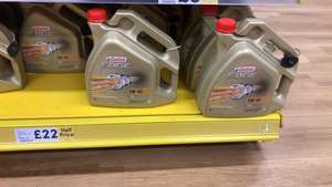 Motor oil £22 @ Tesco