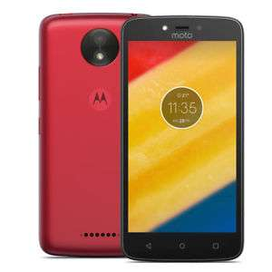 Moto C, 4G Phone. Cherry Red £49 on O2 Pay and GO @ O2