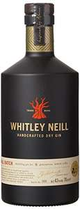 Whitley Neill Handcrafted London Dry Gin 70cl £20 @ Amazon or Asda