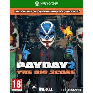 Payday 2 The Big Score CRIMEWAVE Edition digital download £10.80 @ Xbox store Brazil