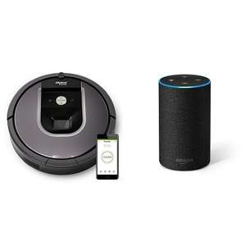 iRobot Roomba 960 + Amazon Echo 2nd gen at Amazon for £567.99