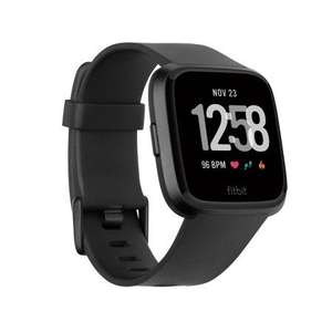 Fitbit Versa Black or Grey Fitness Smartwatch £180.30 Delivered @ Amazon US
