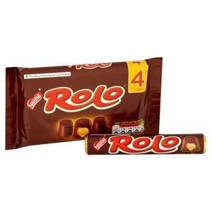 Rolo Multipack 4x52g £1 at Tesco In-store and Online