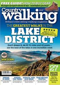2 years subscription to country walking £58.50 @ Great Magazines