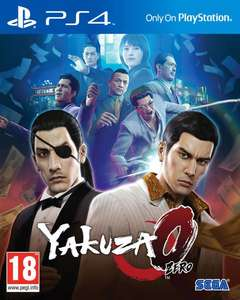 Yakuza Zero 0 PS4 £19.50 from coolshop