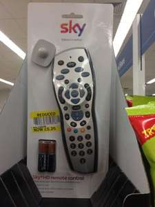 Sky+ hd  remote £5.25 at Tesco instore