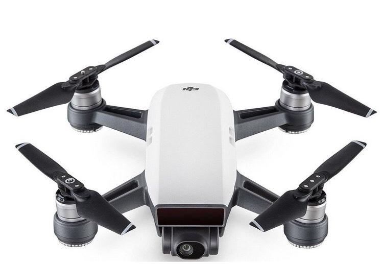 DJI Spark 1080p Quadcopter Drone - White £314.30 Maplin