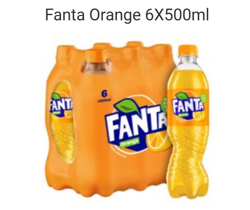 Fanta Orange 6 X 500ml £4 at Tesco - Online or instore!