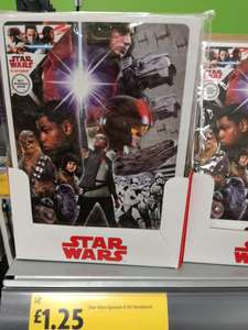 Star Wars A5 notebook £1.25 at Morrisons instore
