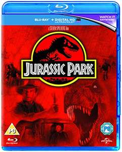 Jurassic Park [Blu-ray + UV Copy] [1993]  £3.85 (Prime) / £5.84 (non Prime) at Amazon