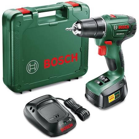 Bosch PSR 1800 Cordless Drill/Driver now £50.99 w/code @ Robert Dyas