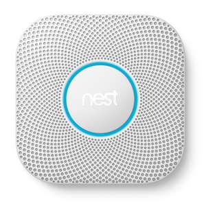 Nest Protect 2nd Generation Smoke & Carbon Monoxide Alarm - Battery or wired, 2 for £151.60 or 1 for £78.28 @ Priority Plumbing with code LUCKY