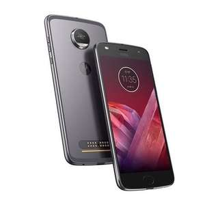 "Motorola Moto Z2 Play Lunar Grey 5.5"" 64GB 4G Unlocked & SIM Free £299.97 @ Laptopsdirect"