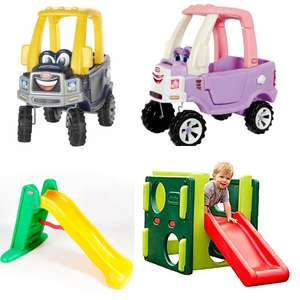 Little Tikes Cosy Trucks £56.50 Delivered / Little Tikes - Easy Store Large Slide £42.50 Free C&C @ Debenhams  (More in OP)