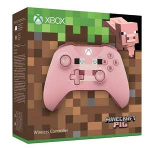 Xbox Wireless Controller- Minecraft Pig £38.75 @ The Game Collection
