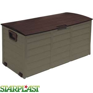 Starplast Garden Storage Box: Brown £29.99 @ home bargains