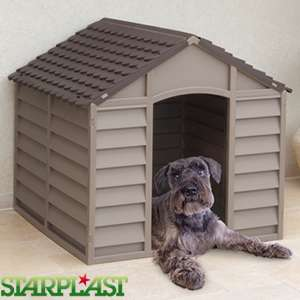 Starplast Dog Kennel (Brown) £29.99 @ home bargains - free c&c