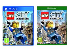 Lego City Undercover (PS4 / Xbox One) now £14.85 delivered @ Base