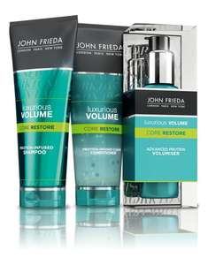 Free John Frieda hair care  Samples Shampoo-Conditioner and Volumiser