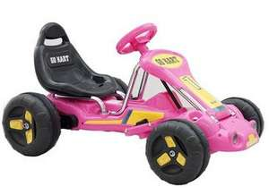 12V Ride-On Go Kart - Pink now £31.49 delivered @ Maplin