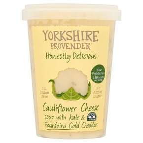AWESOME !!! Honestly Delicious Yorkshire Provender Cauliflower Cheese Soup 600g - £2 @ Waitrose