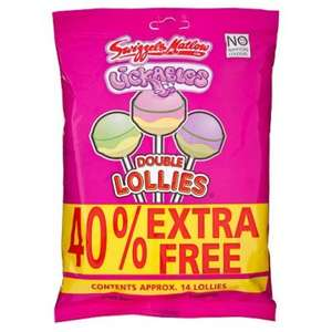 Swizzels Double Lollies 14 Pack 154g £1 @ Poundland