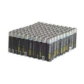Maplin Extra Long Life Alkaline Value AAA 1.5V Batteries 100 Pack £6.75 - £2.99 del