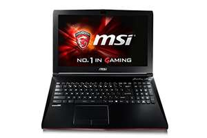 MSI GP62 7RD (Leopard) 079UK 15.6 Inch Gaming Laptop (Black) - (Kabylake Core i5-7300HQ, 8 GB RAM, 128GB SSD, 1TB HDD, GTX 1050, Windows 10) Used - Very Good £530.08 @ Amazon warehouse