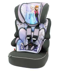 Disney Frozen/Cars Beline SP Group 1/2/3 Car Seat £35 (was £69.99) (free C&C) @ Mothercare