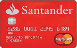 0% Credit Card Balance Transfer + 0% interest fees @ Santander over 27 months