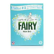 Fairy Non Bio Washing Powder 40 Washes 2.6kg Reduced to £3.75 instore @ Wilko