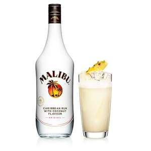 Malibu White Rum With Coconut 1L £12 @ Tesco