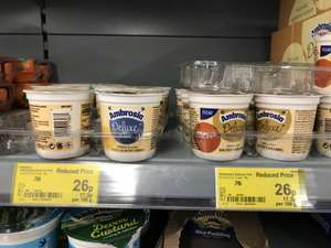 Ambrosia Deluxe Rice and Custard 150g Pots - 26p each @ Asda