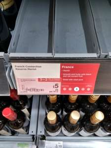 French Connection Grande Reserve Merlot £5 and 3 for 2 (£10 for 3 x 750ml bottles) @ Asda Instore Only (works out £3.33 per bottle)