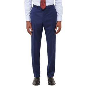 John Lewis 100% Wool Jaeger Slim Fit Suit Trousers Royal Blue £13 + £2 C&C or £3.50 delivery