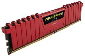 DDR4 Corsair Vengeance LPX Red 8GB CL14 £69.99 @ Ebuyer