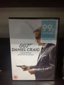 Daniel Craig 007 box of two films Quantum of Solace and Casino Royale 24p in That's Entertainment (75% sale off EVERYTHING) in Bootle Strand Store