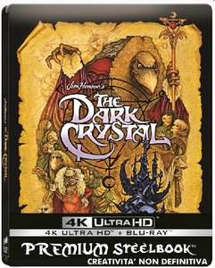 The Dark Crystal - 4k UHD Blu-ray Steelbook £13.67 amazon.it