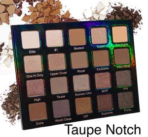 Violet Voss Taupe Notch Eyeshadow Palette 40% off - only £25.79 at Beauty Bay