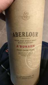 Aberlour A'Bunadh (Batch 60) Single Malt Scotch Whisky 70cl £29.99 in-store @ Waitrose (could be store specific)