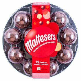 Maltesers 12 Double Chocolate Crunchy Munchy Cupcakes £8 @ ASDA