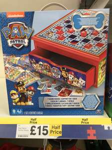 7in1 Paw Patrol game box now only £15!! instore @ Tesco