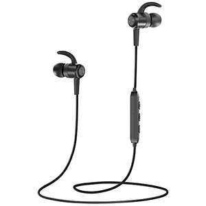 TaoTronics Wireless Headphones, Bluetooth 4.1 Magnetic Sweatproof Sports Earphones with CVC 6.0 Noise Cancelling and 8 hours Playtime £13.59 Prime / £17.58 Non-Prime Sold by Sunvalleytek-UK and Fulfilled by Amazon